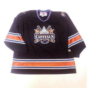 VTG CCM WASHINGTON CAPITALS NHL XXL Hockey JERSEY
